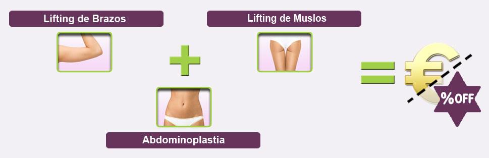 contorno corporal combo